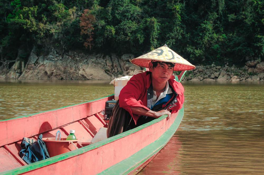 Как сплавиться по Меконгу на собственной лодке