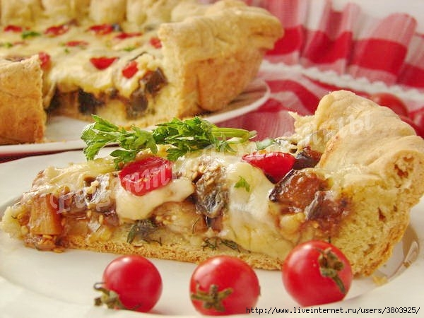 Потрясающе вкусный пирог с б…