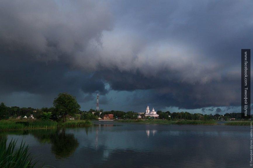 В Соль-Илецке от удара молни…