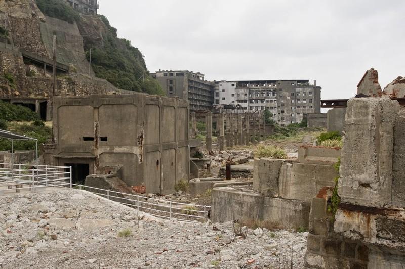 6. Хасима город, интересное, история, люди, мир, разрушение, событие, фото