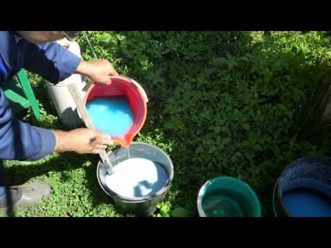 Что такое Бордоская жидкость?Приготовление Бордосской Жидкости
