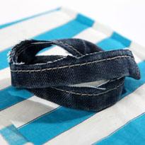 Стильный гамак из старых джинсов. Шаг 9