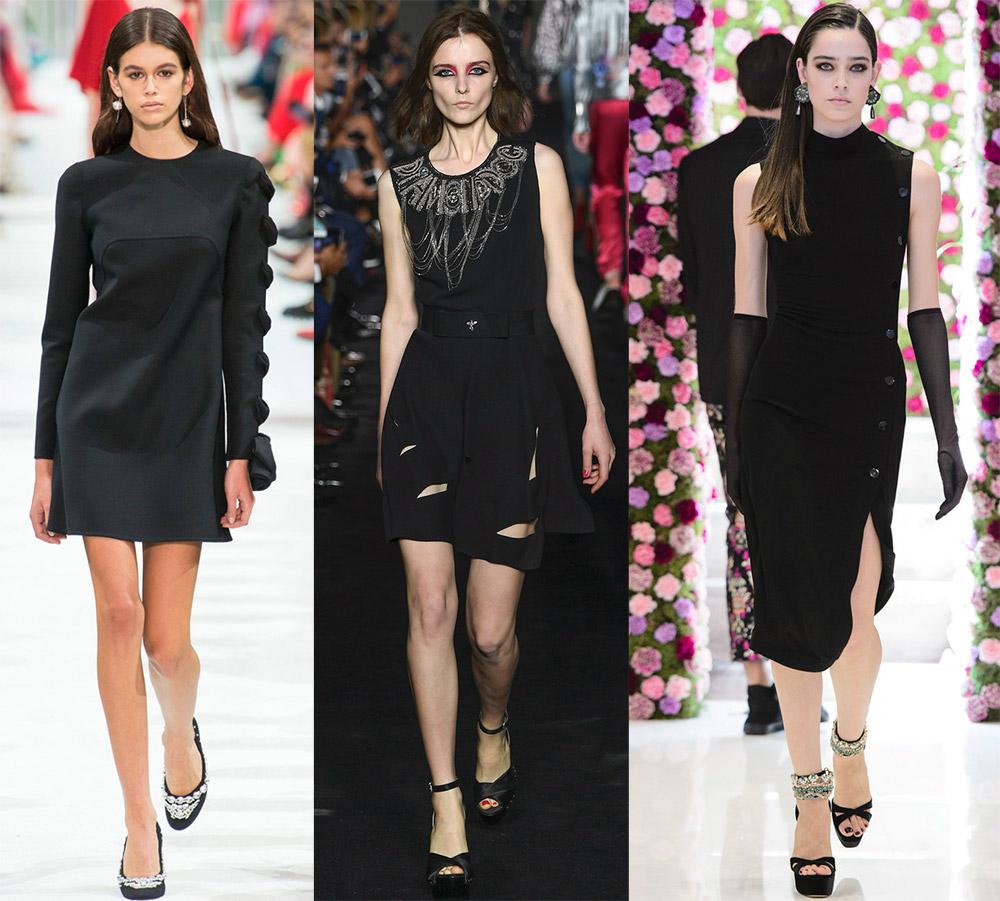 Маленькое черное платье 2018