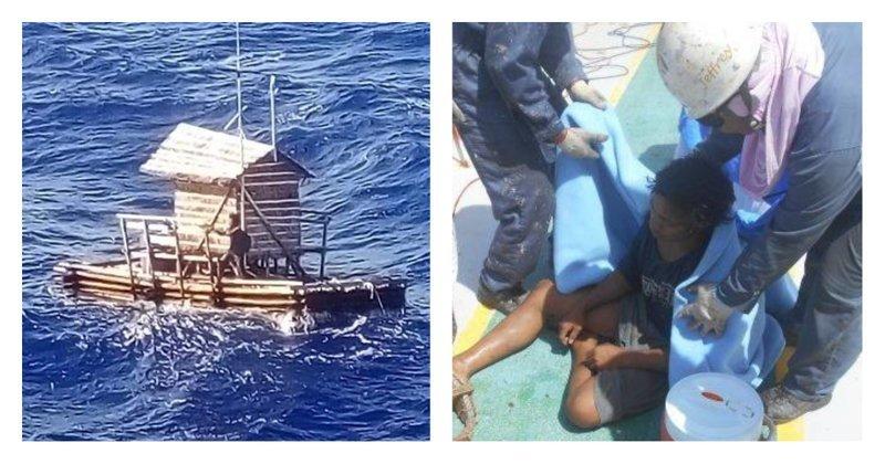 Индонезийский юноша 49 дней дрейфовал в океане и сумел выжить