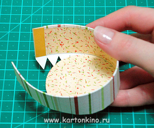 Как сделать подарочную круглую коробку из картона своими руками