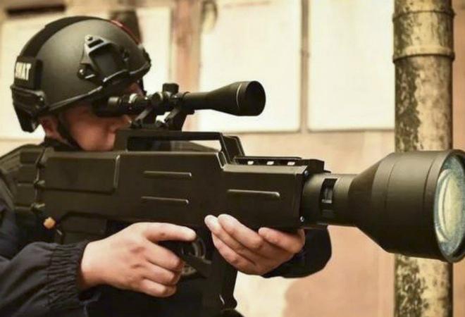 Китайская лазерная винтовка умеет стрелять на километр