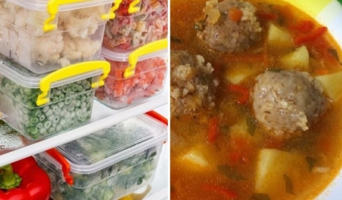 Заготовка еды на месяц: как …