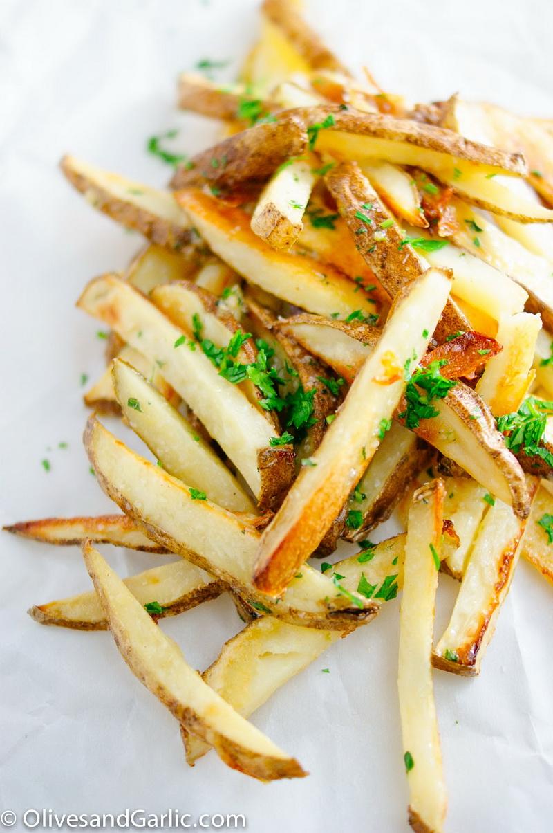 Жареная картошка по-французски