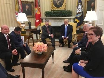 МИД Украины назвал темы переговоров Порошенко и Трампа в Нью-Йорке