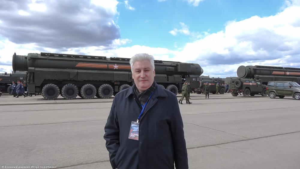 """ПГРК """"Ярс"""" в Алабино: 3 пусковые установки, 18 хиросим. И никакого импортозамещения!"""