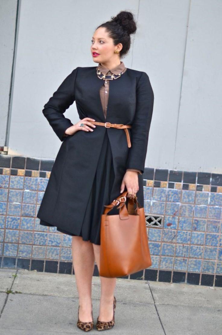 И Стефани не останавливается на достигнутом. Она продолжает демонстрировать в своем блоге моду для полных девушек, создавая яркие и запоминающиеся модные образы.