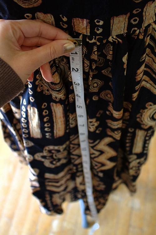 как сшить юбку из платья