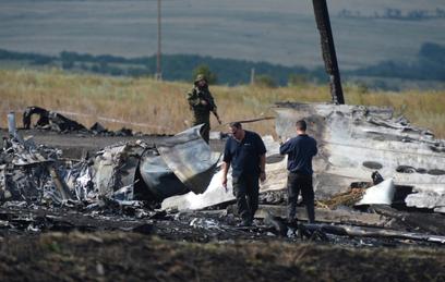 На месте крушения Boeing под Донецком нашли новые останки
