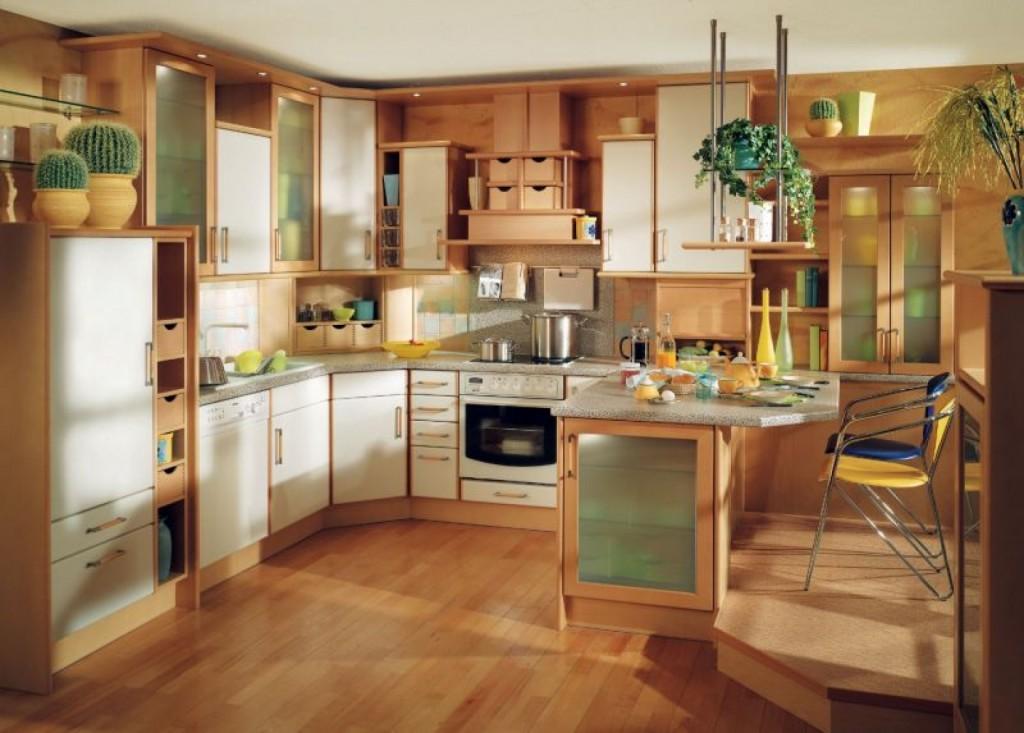 arresting ultramodern kitchen rooms classic decoration 1024x733 Дизайн фасадов кухонных шкафов 60 фото