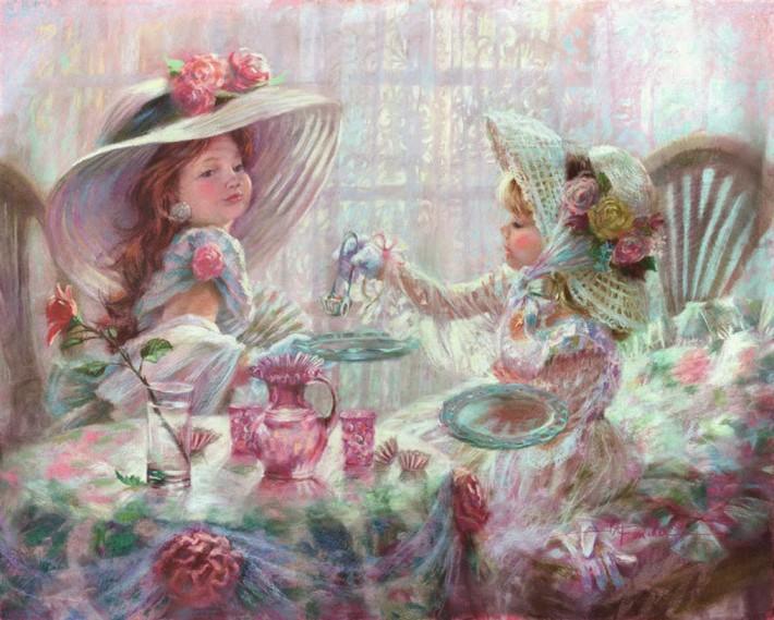 Очаровательные картины Kathy Fincher