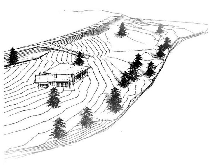 Загородный дом на берегу реки