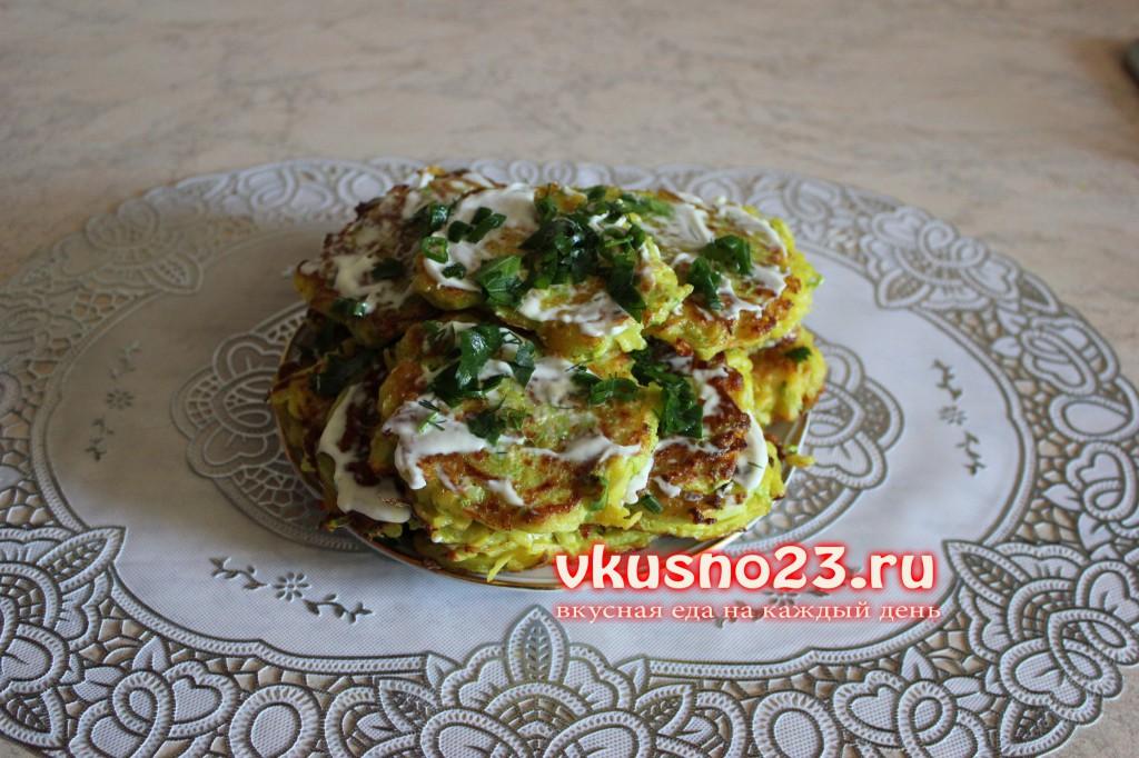 Кабачковые оладьи в духовке - пошаговый рецепт с фото на ...