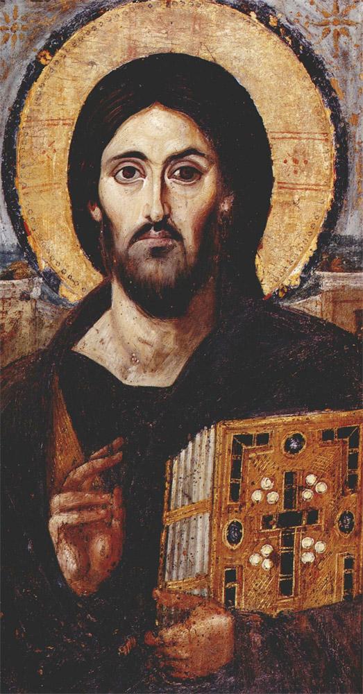 Древнейшая икона Христа