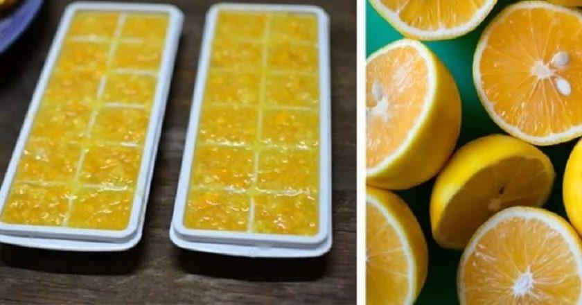Заведите себе эту полезную привычку — замораживать лимоны!