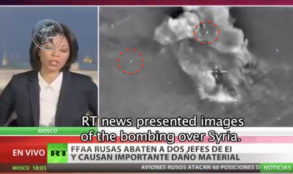Британские СМИ увидели НЛО в сюжете RT об ударах ВКС по боевикам в Сирии
