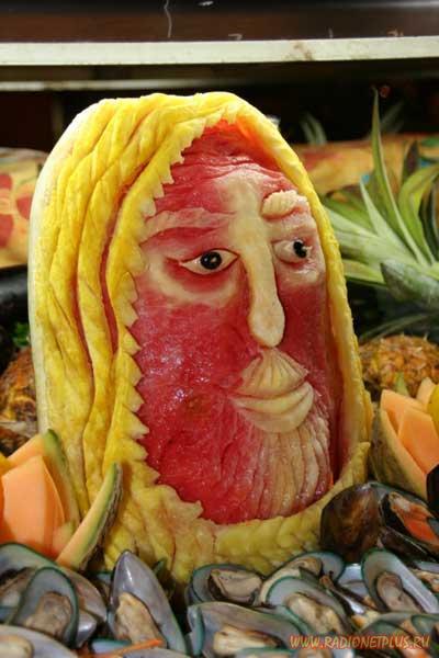 Искусство из ягод и овощей..