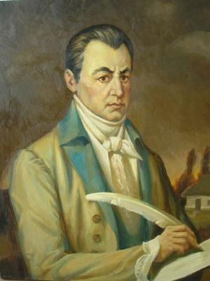 Изобретатель малороссийского наречия Иван Петрович Котляре́вский (29 августа (9 сентября) 1769, Полтава — 29 октября (10 ноября) 1838, там же)
