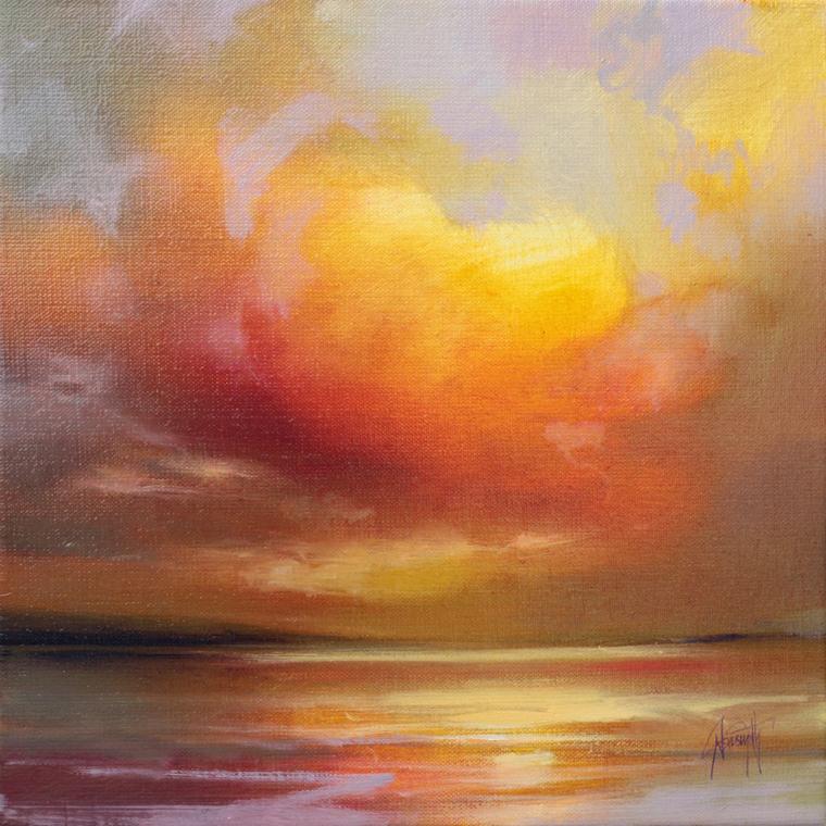 Взрыв цвета среди облаков! Шотландские пейзажи Scott Naismith