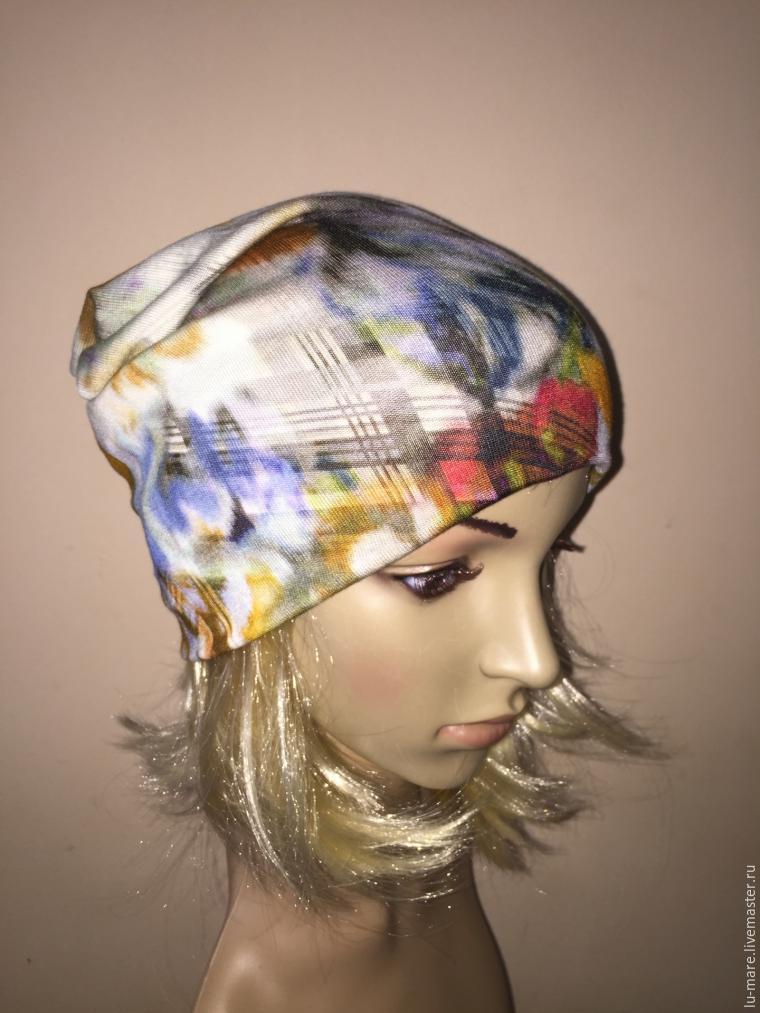 Шьем шапку с секретом за 30 минут