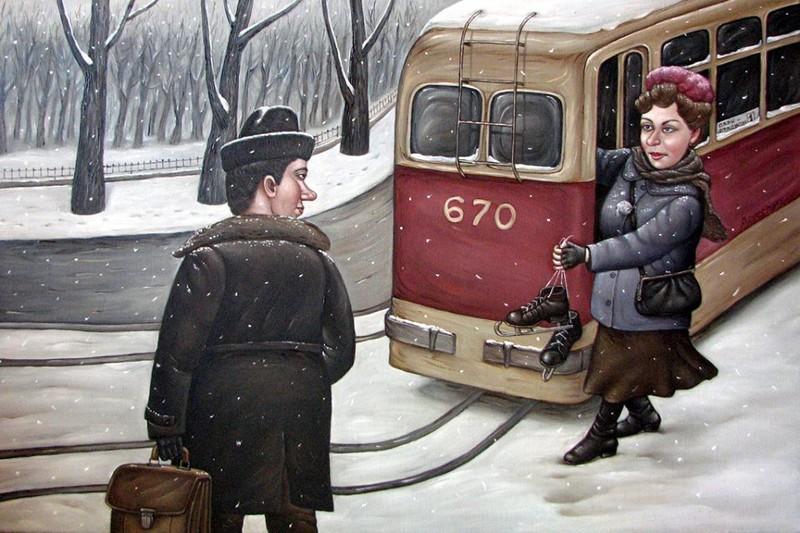 AngelaJerich07 Путешествие в СССР: картины художницы Анжелы Джерих