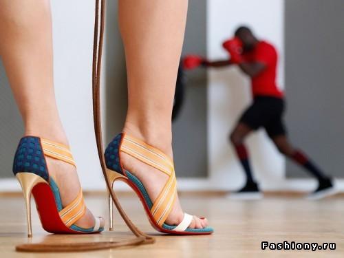Лукбук коллекции обуви Christian Louboutin осень-зима 2016: на шпильках в спортзал!