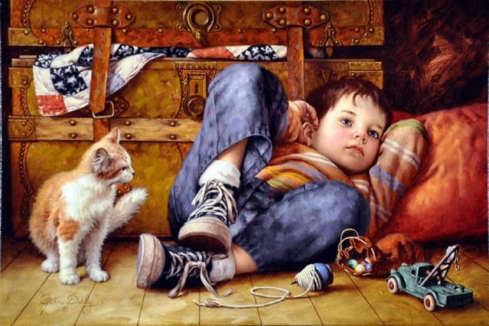 Вспомним детство вместе с художниками!