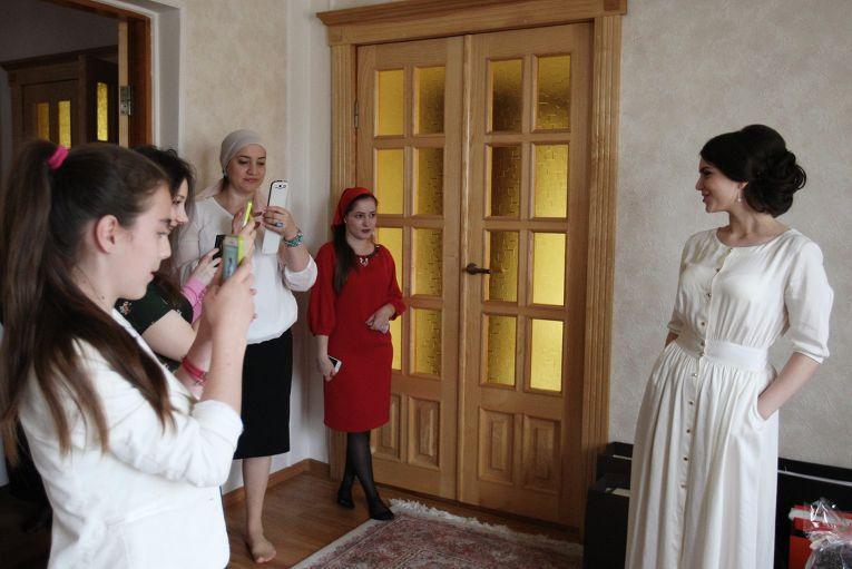 Какой на самом деле бывает чеченская свадьба