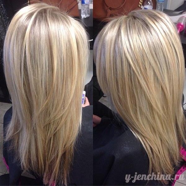 Фото укладок на средние волосы вид сзади