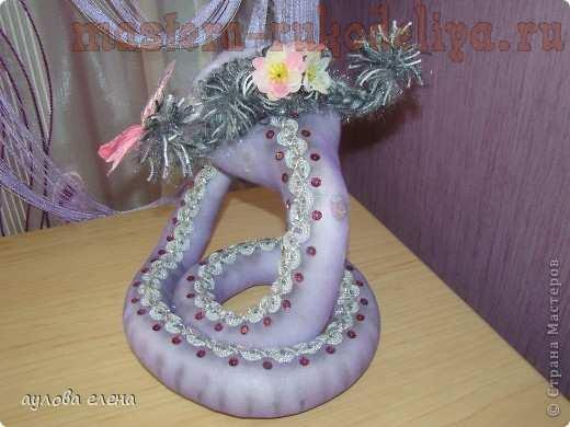Мастер-класс по шитью игрушек: Змейка