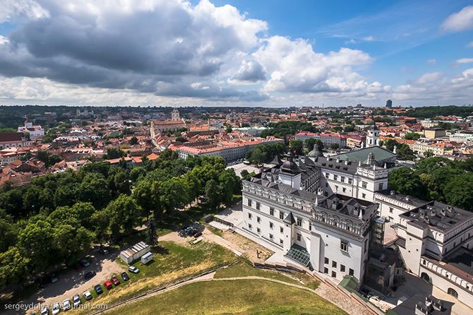 Прогулка по солнечному Вильнюсу