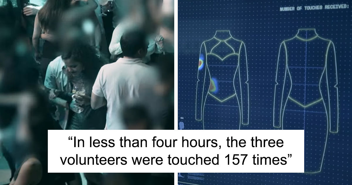 'Smart Dresses' Worn By 3 Women At A Club Show That They Were Touched 157 Times Without Their Consent In Less Than 4 Hours
