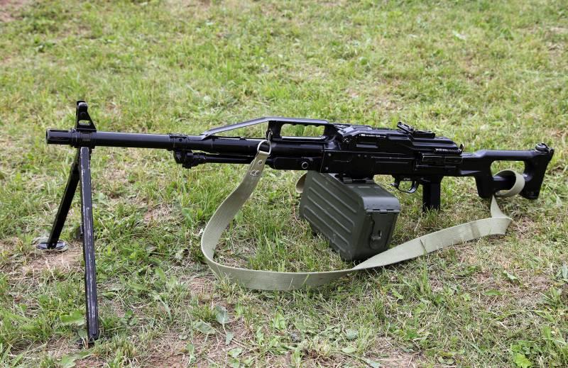 Армия ВВО перевооружена на пулеметы «Печенег»