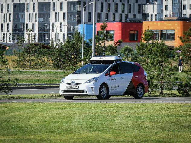 «Яндекс» анонсировал запуск первого в Европе такси-беспилотника