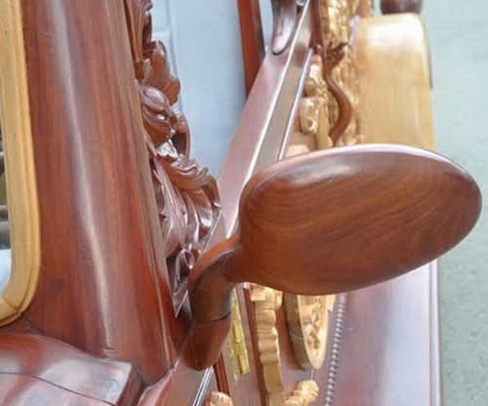 Деревянное авто *Ахиллес* от вьетнамского конструктора