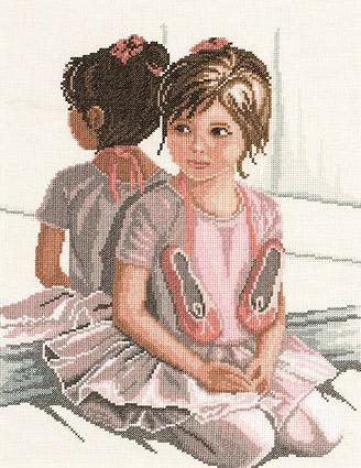 Вышивка «Юная балерина»