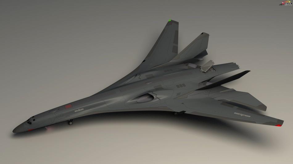 Насколько реален проект китайского малозаметного бомбардировщика Н-10?