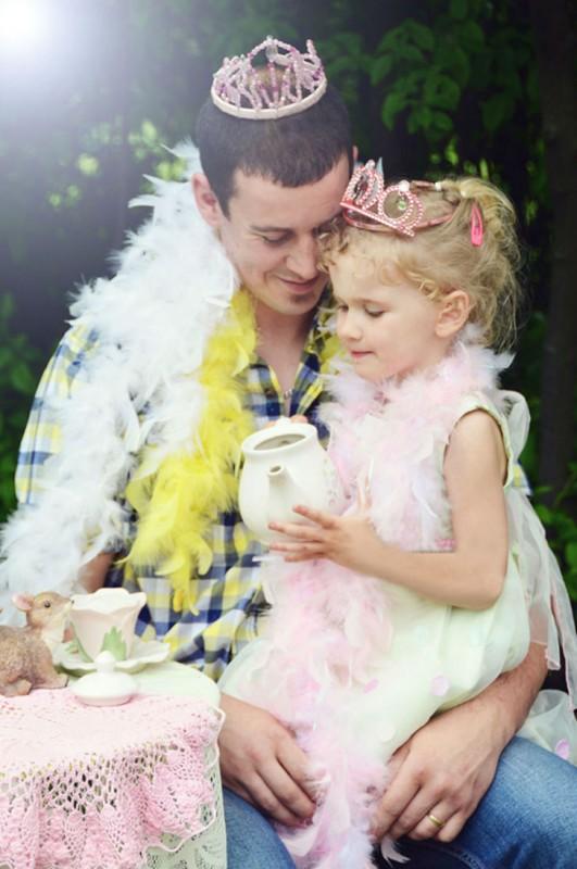 Что значит быть папой маленькой девочки