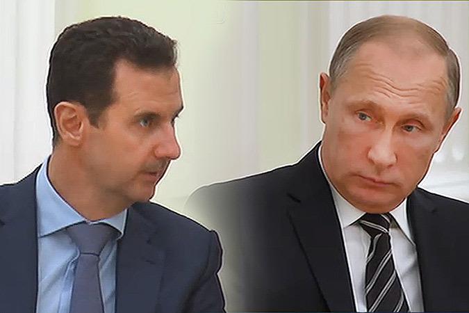 Башар Асад поблагодарил всех россиян за помощь