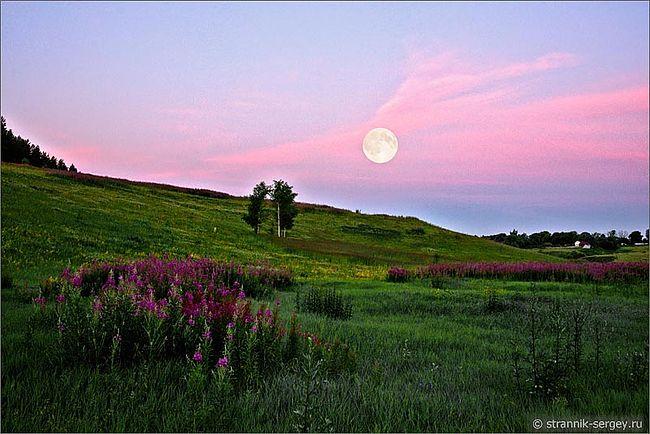 Лунные пейзажи