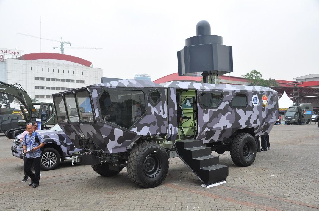Выставка Indo Defense 2018 - зарисовки индонезийской экспозиции