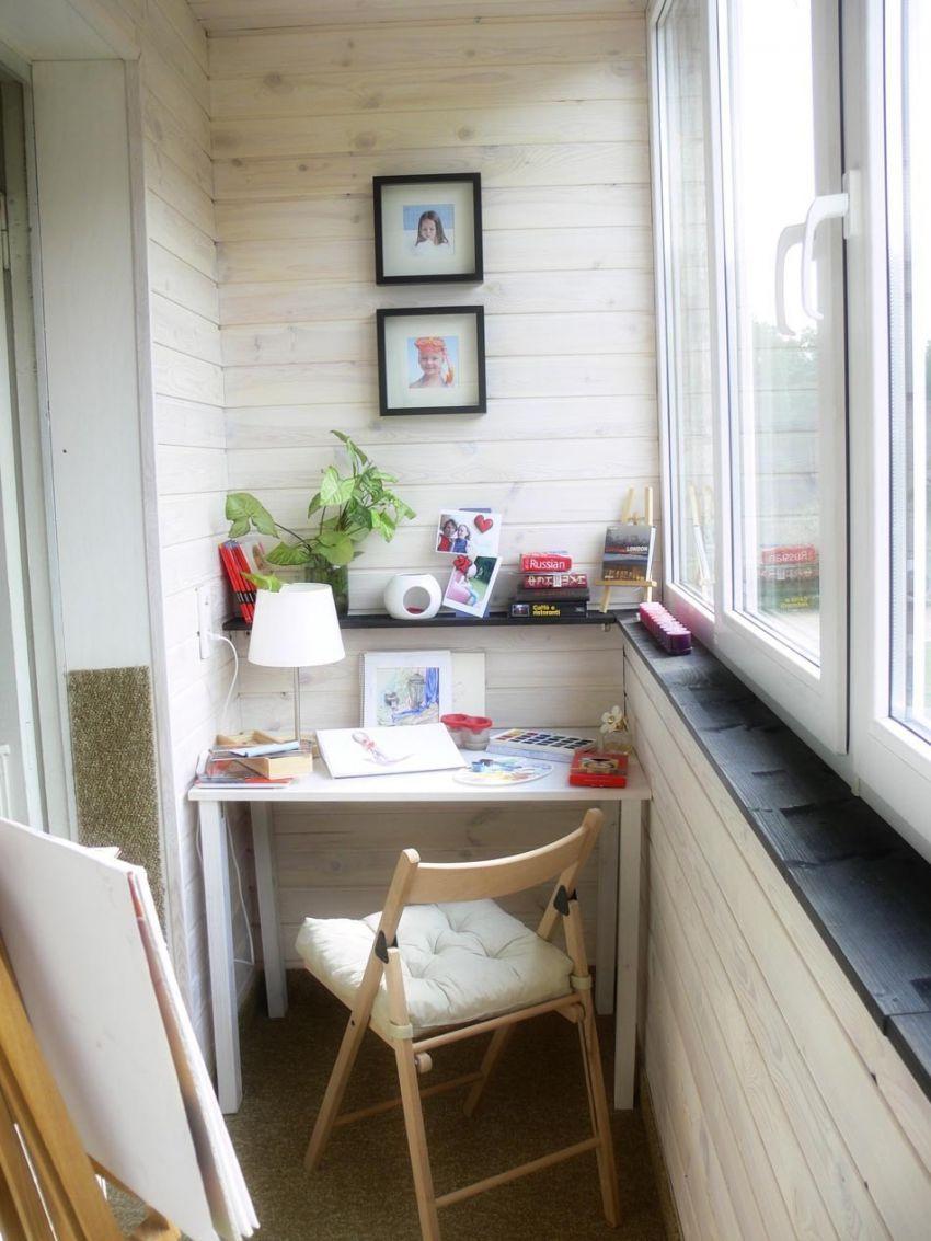 Интересные интерьеры балконов ремонт, дизайн, балкон, интерьер