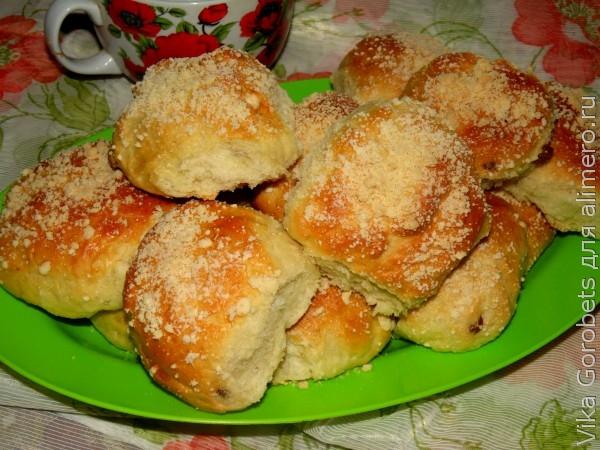 рецепт майские булочки