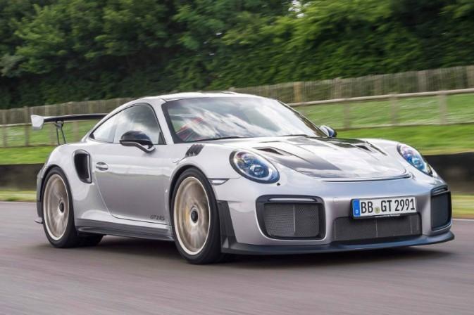 В Гудвуде дебютировал самый мощный и самый быстрый Porsche 911 GT2 RS