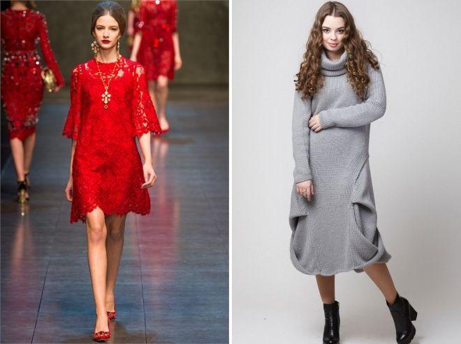 платье балахон в моде