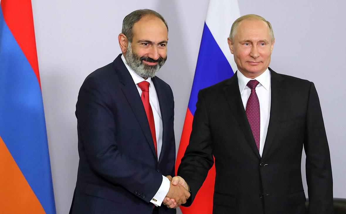 Премьер-министр Армении встретится с Путиным
